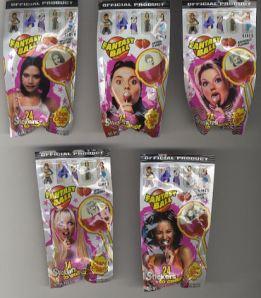Spice+Girls+-+Set+of+Five+Lollipops+-+MEMORABILIA-442969